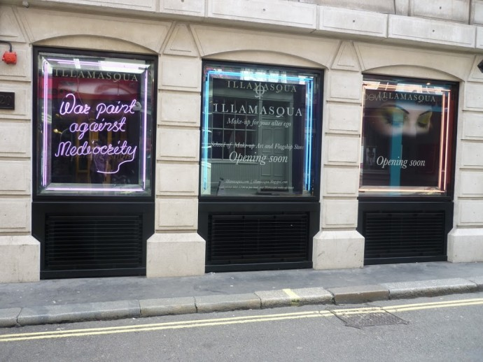 BEAUTY EVENT: ILLAMASQUA STORE PREVIEW
