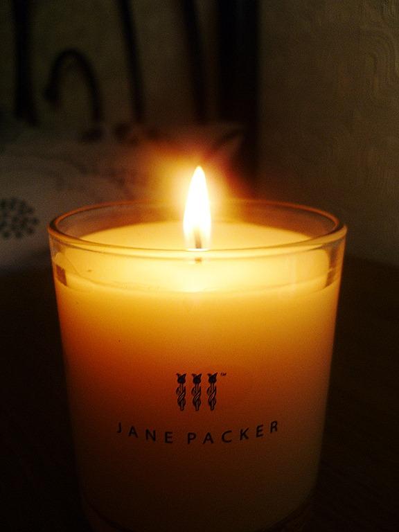 janepackercandleburning