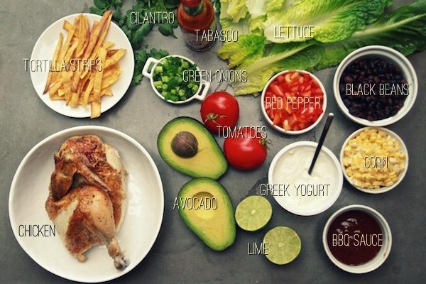FOOD: BBQ CHICKEN SALAD