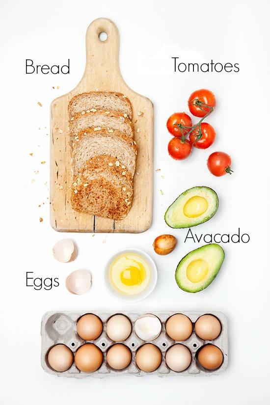 FOOD: EGG AND AVOCADO TOAST
