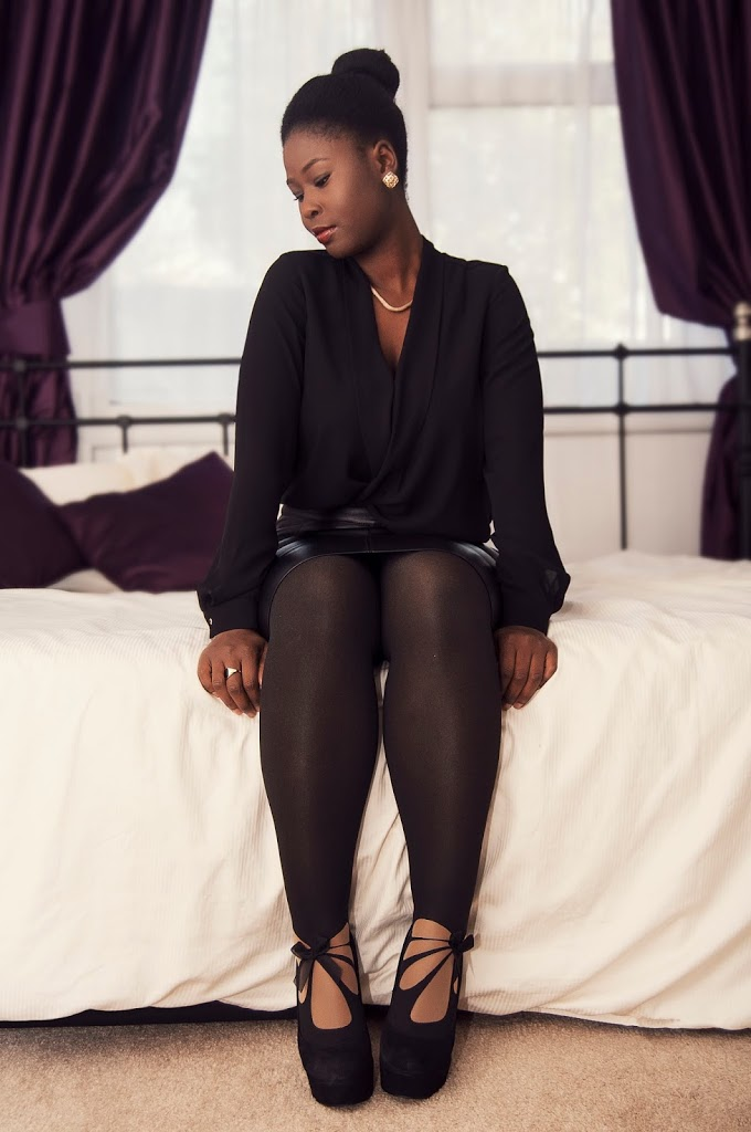 FASHION: WEARING WOLFORD TIGHTS