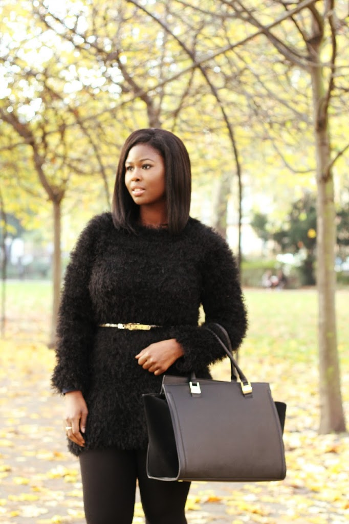 OOTD: MOHAIR JUMPER DRESS