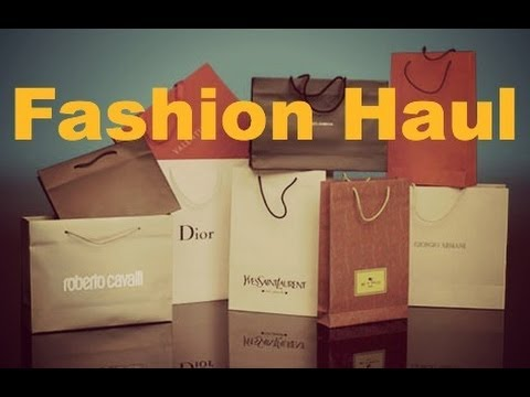FASHION HAUL PART 1