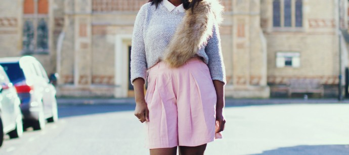STYLE: PASTEL CULOTTES WITH HEELS FOR EVENING