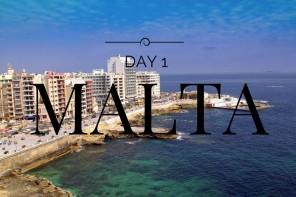 NEW VLOG CHANNEL – MALTA DAY 1