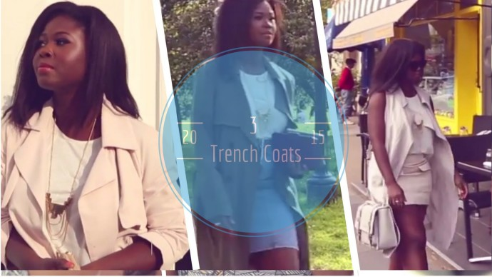 STYLE: WATCH HOW I STYLE THREE TRENCH COATS FOR THE WARMER SEASON