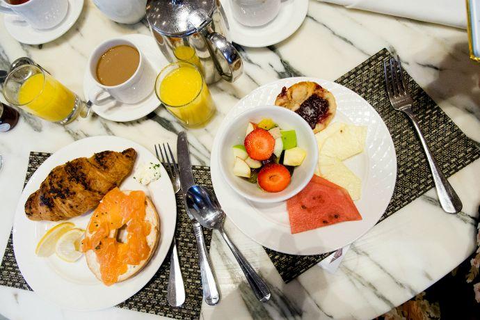 Holland_Barrett_Slumber_Party_Breakfast_Midland_Hotel