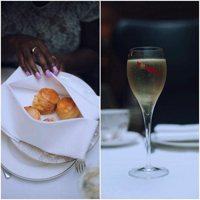 london_conrad_hotel_afternoon_tea_scones_wines