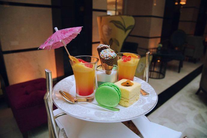 FOOD: AFTERNOON TEA AT CONRAD LONDON ST JAMES HOTEL
